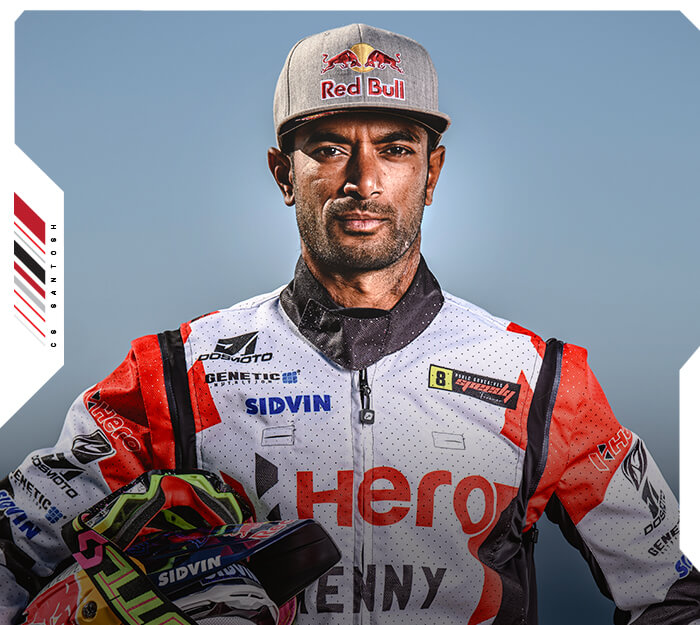Hero Motorsports santosh home